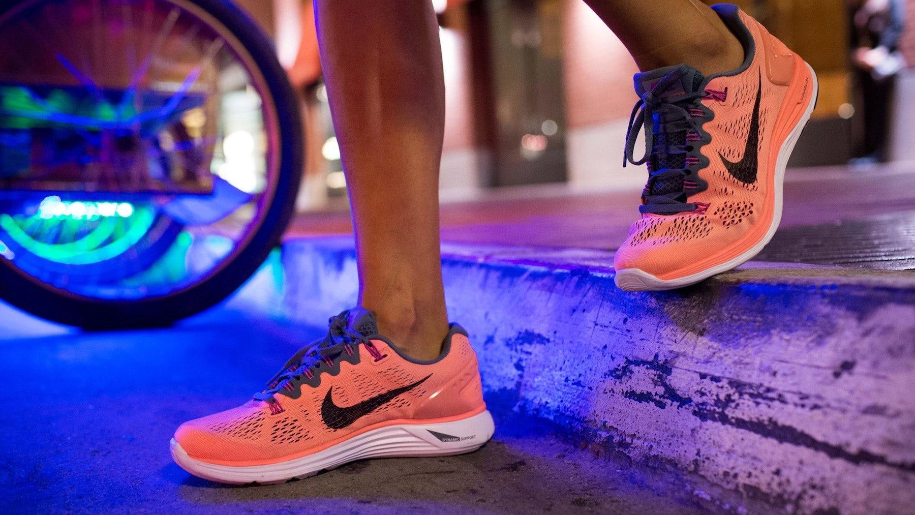 Nike's LunarGlide+ 5 trainers | Source: Nike