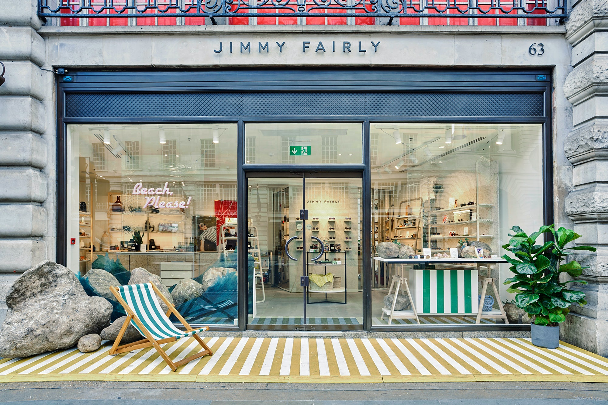 Jimmy Fairly store on Regent Street, London | Source: Courtesy
