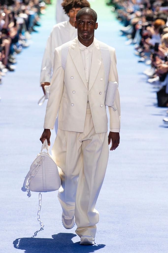 8e77a15c28 Virgil Abloh's Eureka Moment at Louis Vuitton   Fashion Show Review ...