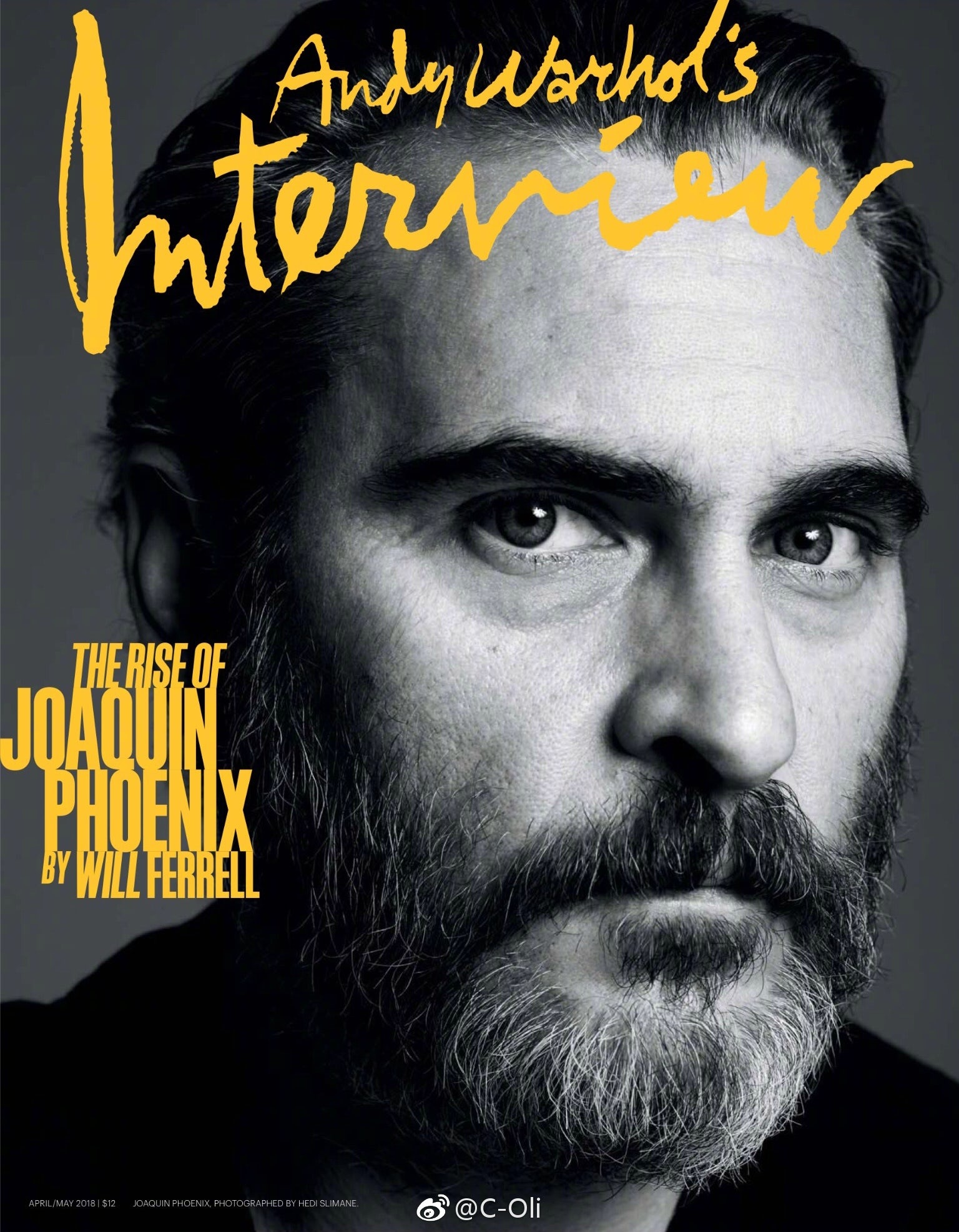 Interview magazine April/May 2018 issue | Source: Interview