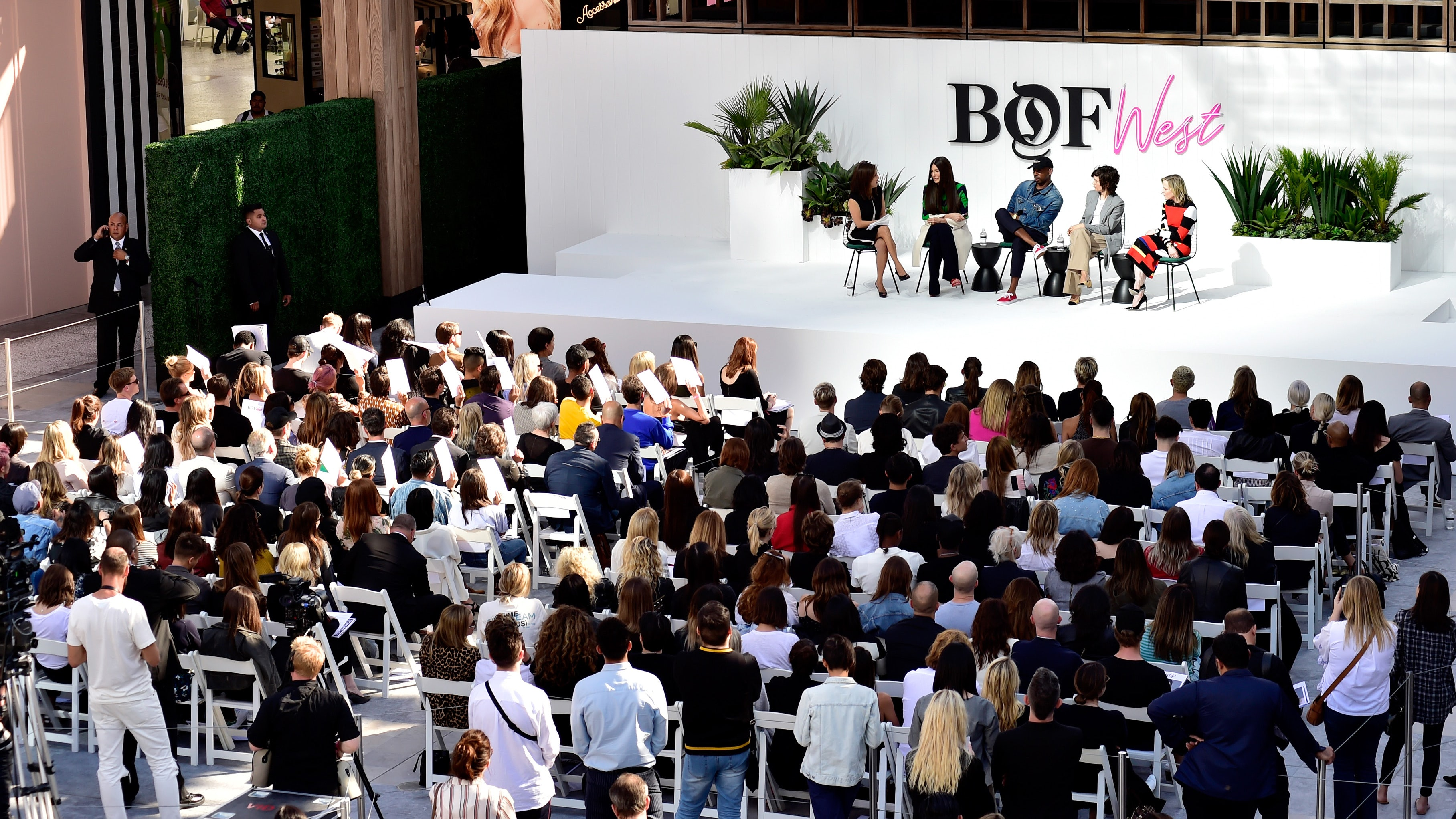 Industry leaders and guests gathered at BoF West | Source: Getty Images