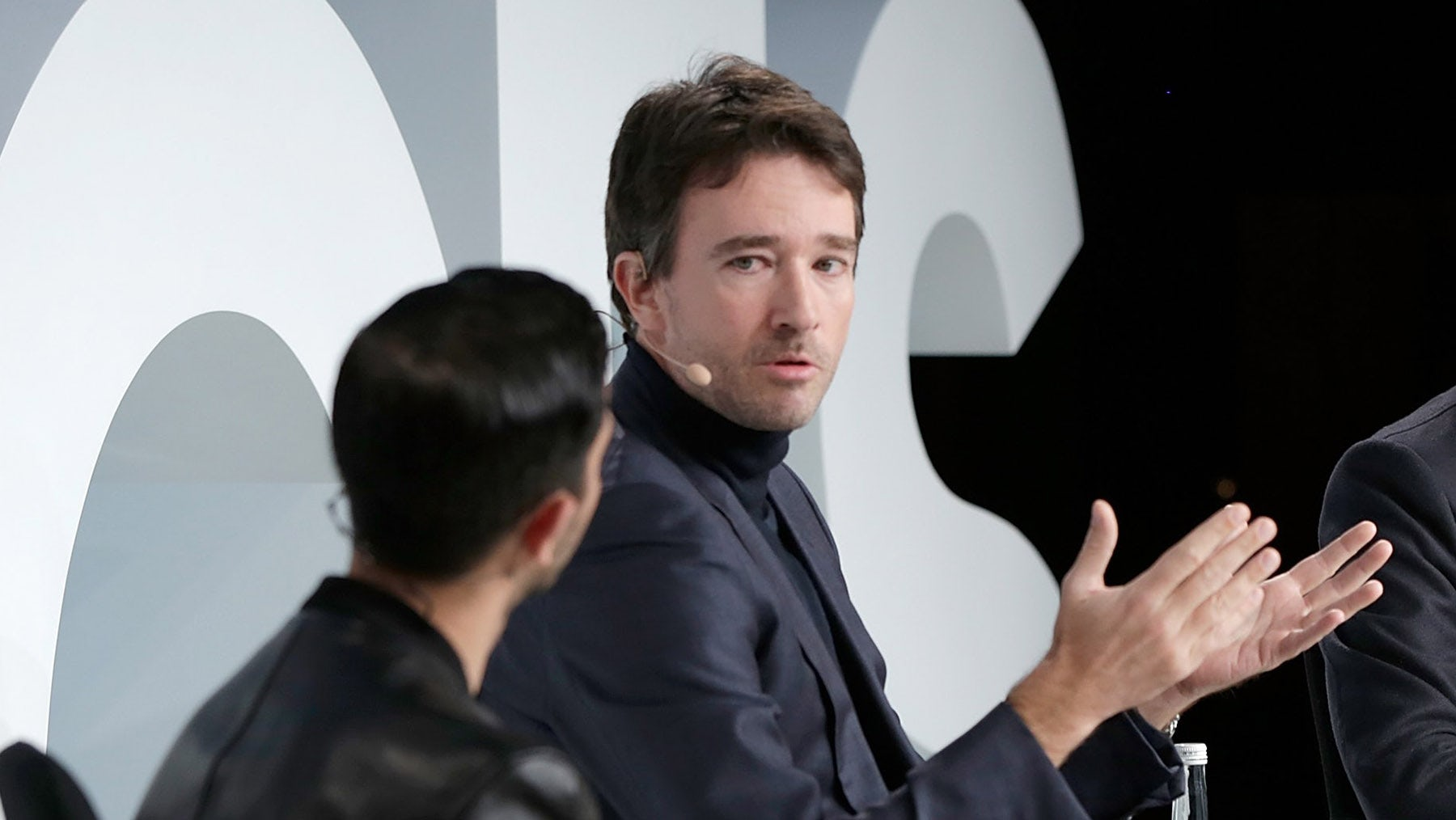 Antoine Arnault speaks on stage at BoF VOICES | Source: Getty
