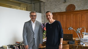 Marc Puig and Dries Van Noten | Source: Courtesy
