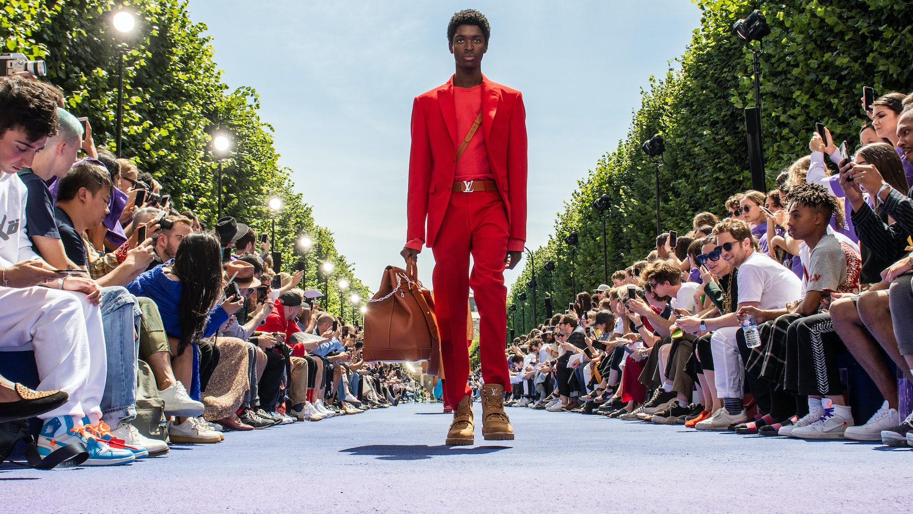 Louis Vuitton Spring/Summer 2019 | Source: Peter White/Getty Images