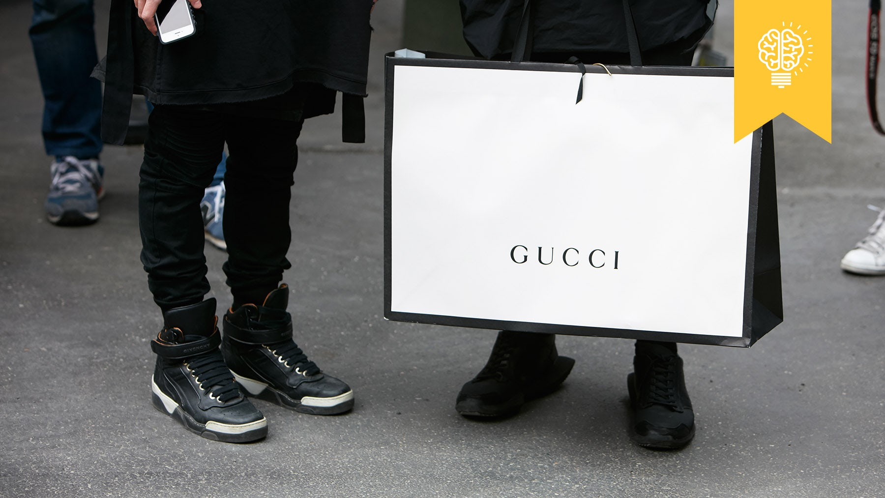 Article cover of The Gucci-Gap Divide: How Luxury Is Winning the Race for Millennial Spend