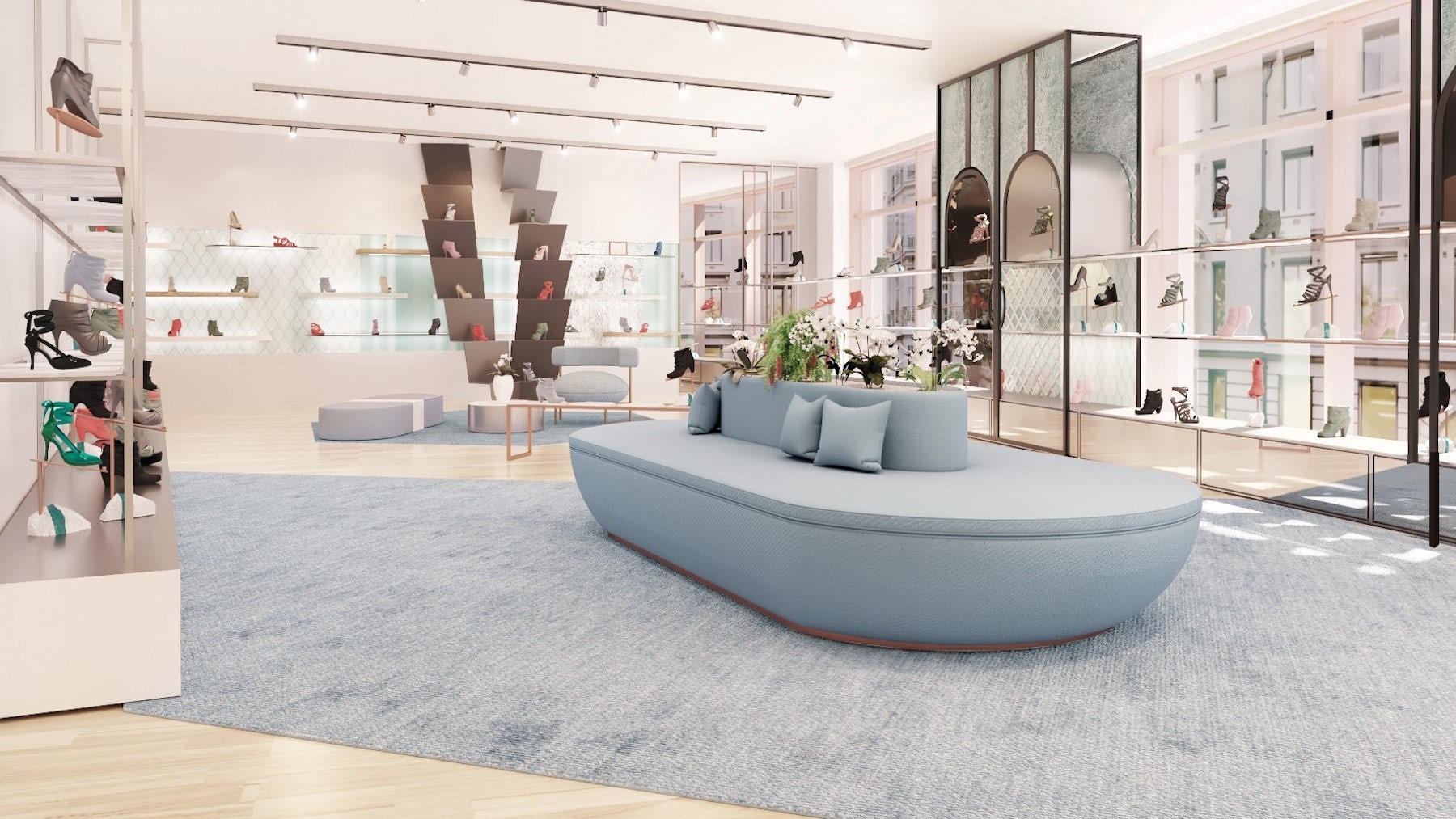 Harvey Nichols' newly renovated first floor | Source: Courtesy
