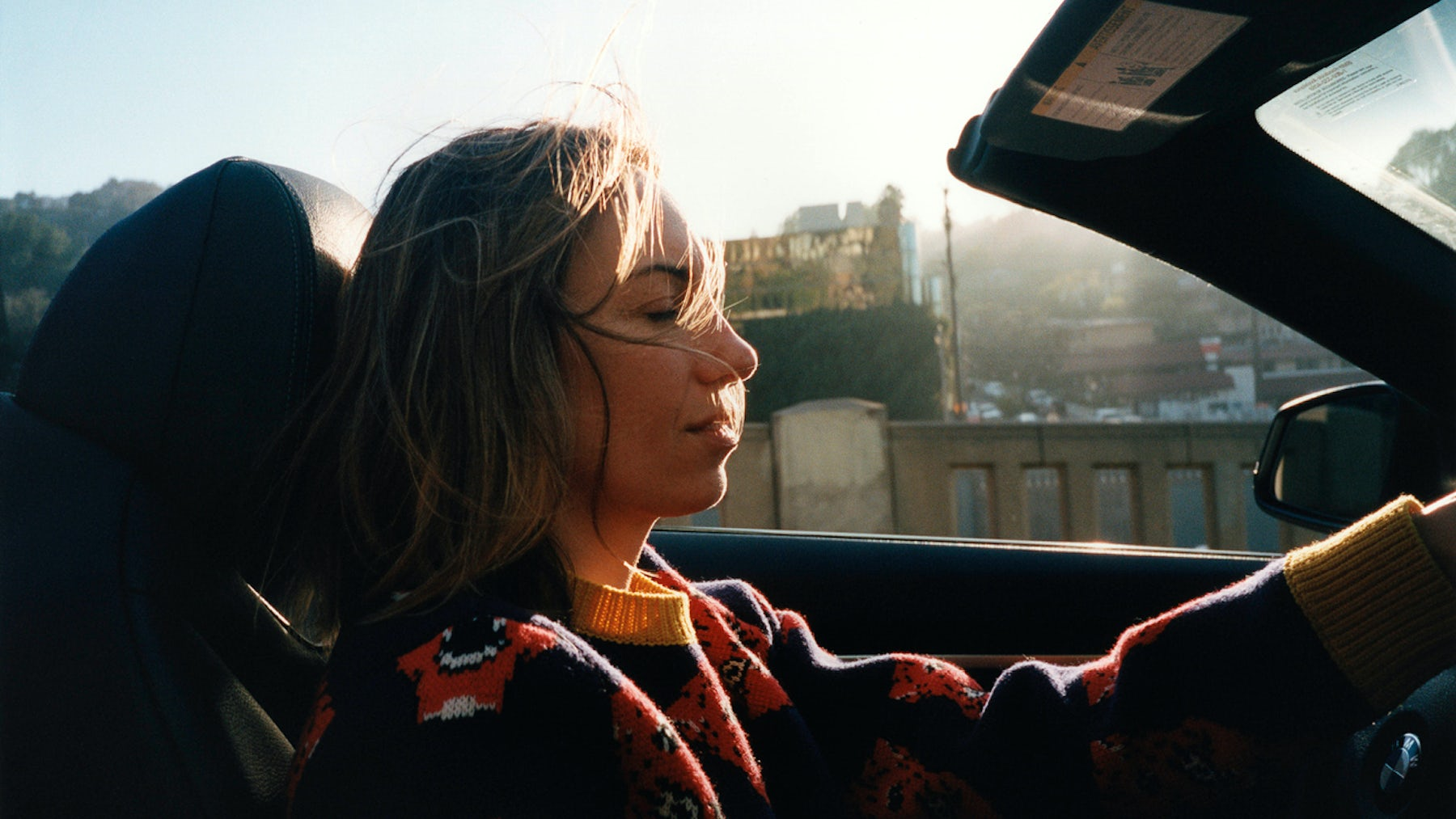Gia Coppola in Los Angeles, shot by Jonas Unger for The Album | Source: Courtesy