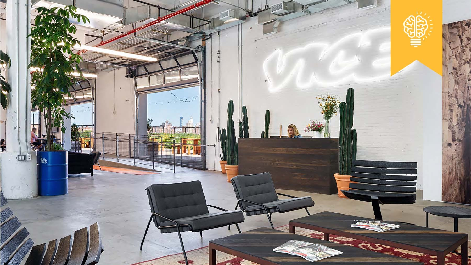 Vice office in Williamsburg, New York | Source: Vice