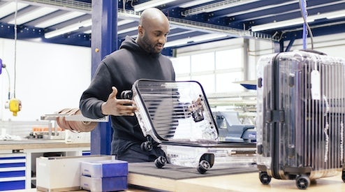 7b1dacde3df4 Inside Rimowa s Off-White Collaboration with Virgil Abloh and Alexandre  Arnault