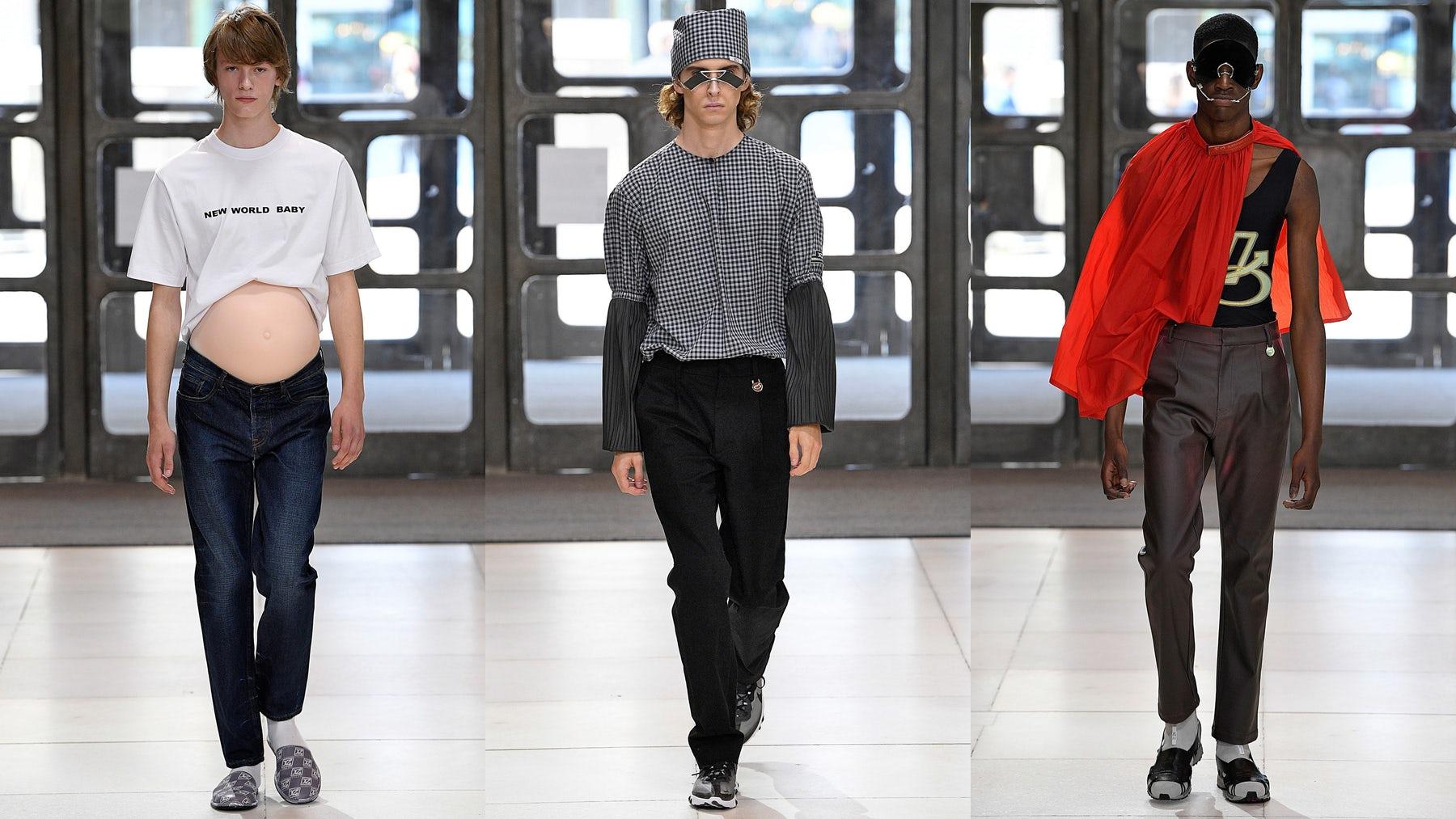 Xander Zhou Menswear Spring/Summer 2019