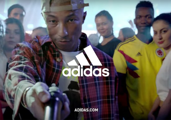 Adidas World Cup 2018 campaign