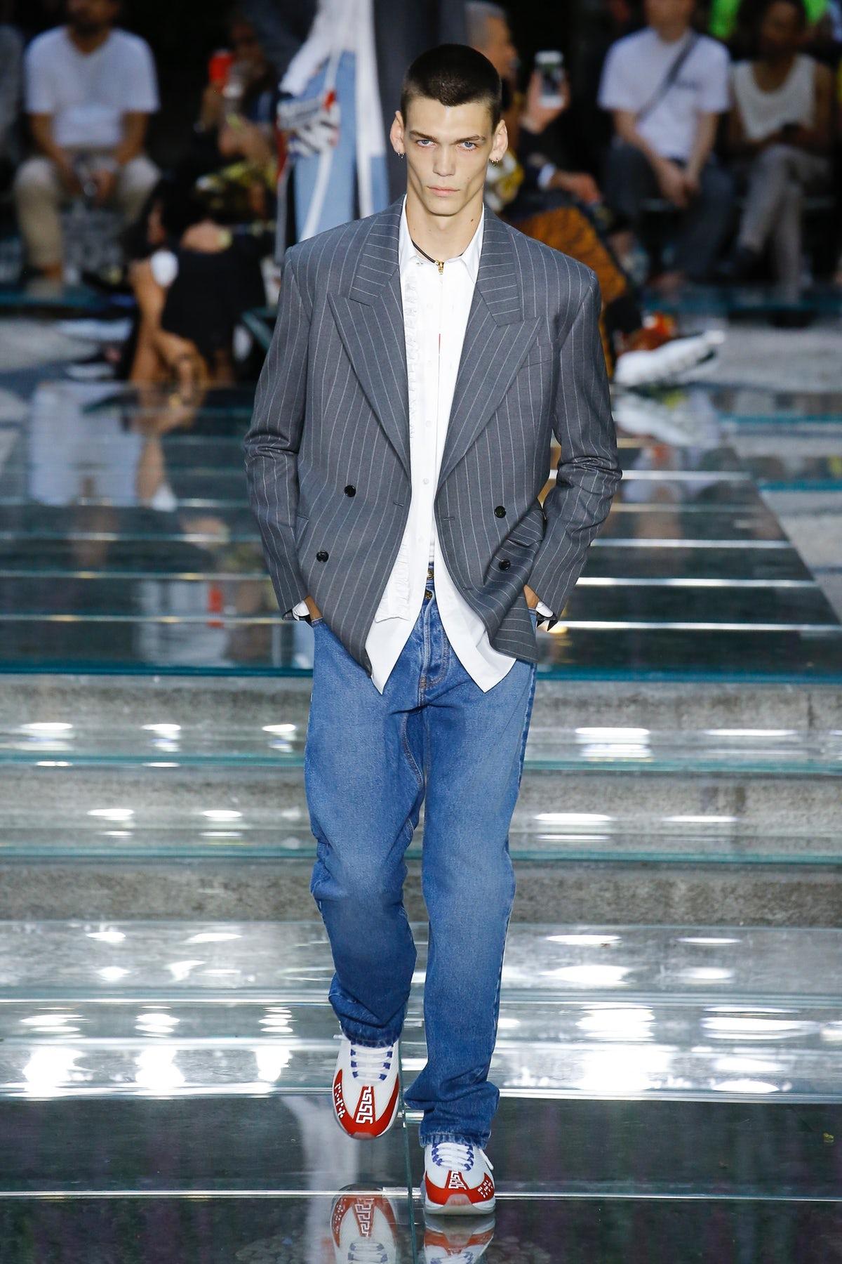 Versace Courts Masculine Vulnerability