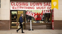 Closing down store | Source: Shutterstock
