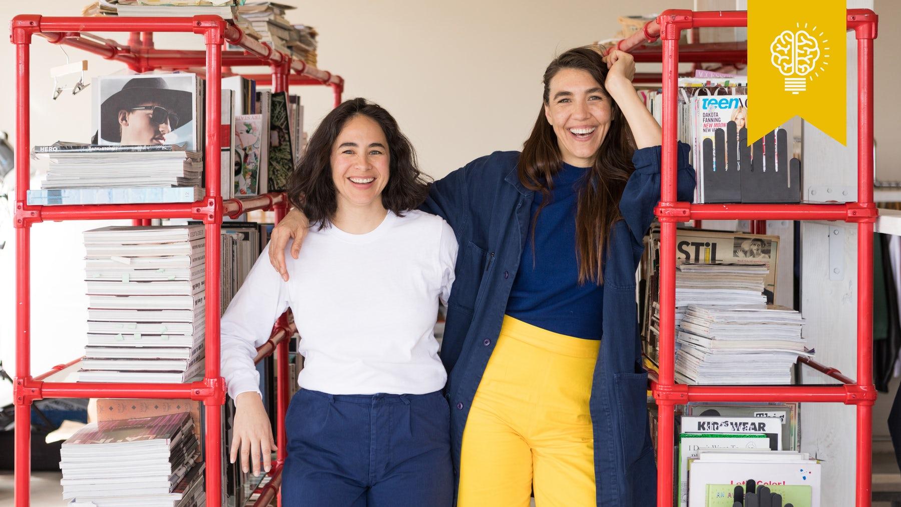 Everybody.World founders Carolina Crespo and Iris Alonzo | Photo: Laure Joliet