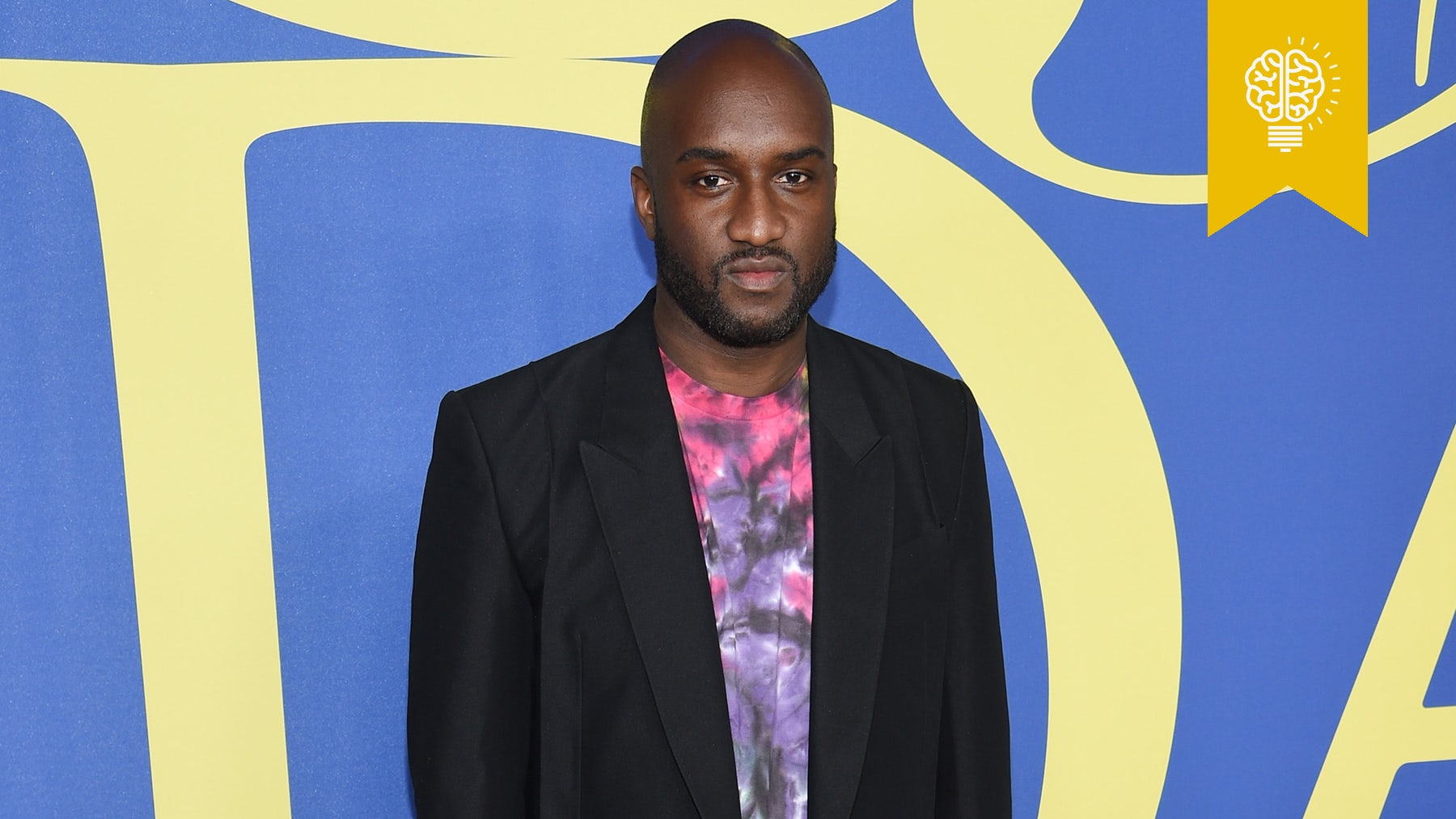Virgil Abloh at the CFDA Awards in a a preview look from Louis Vuitton's upcoming Spring/Summer 2019 show | Source: Courtesy