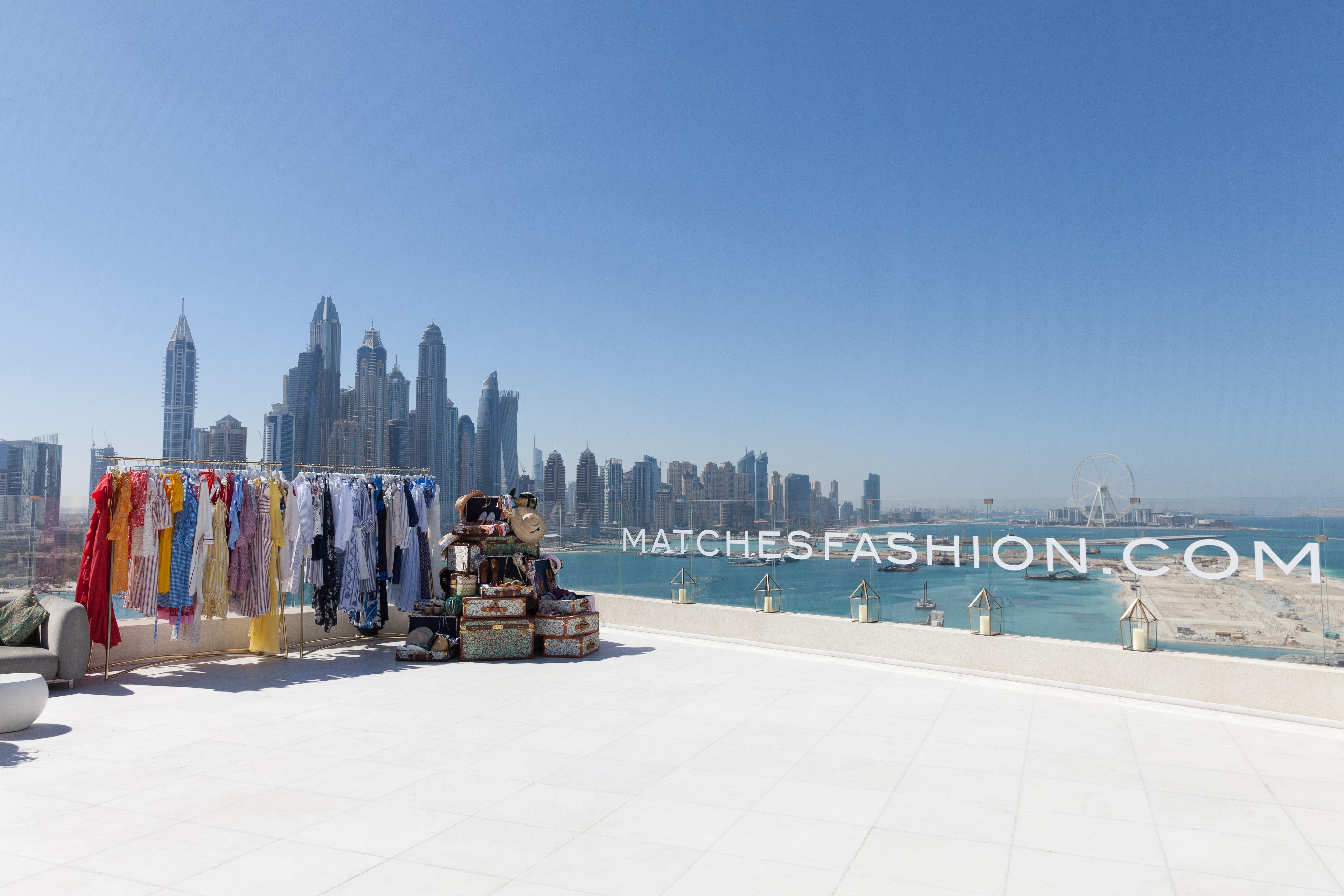 MatchesFashion event in Dubai, UAE