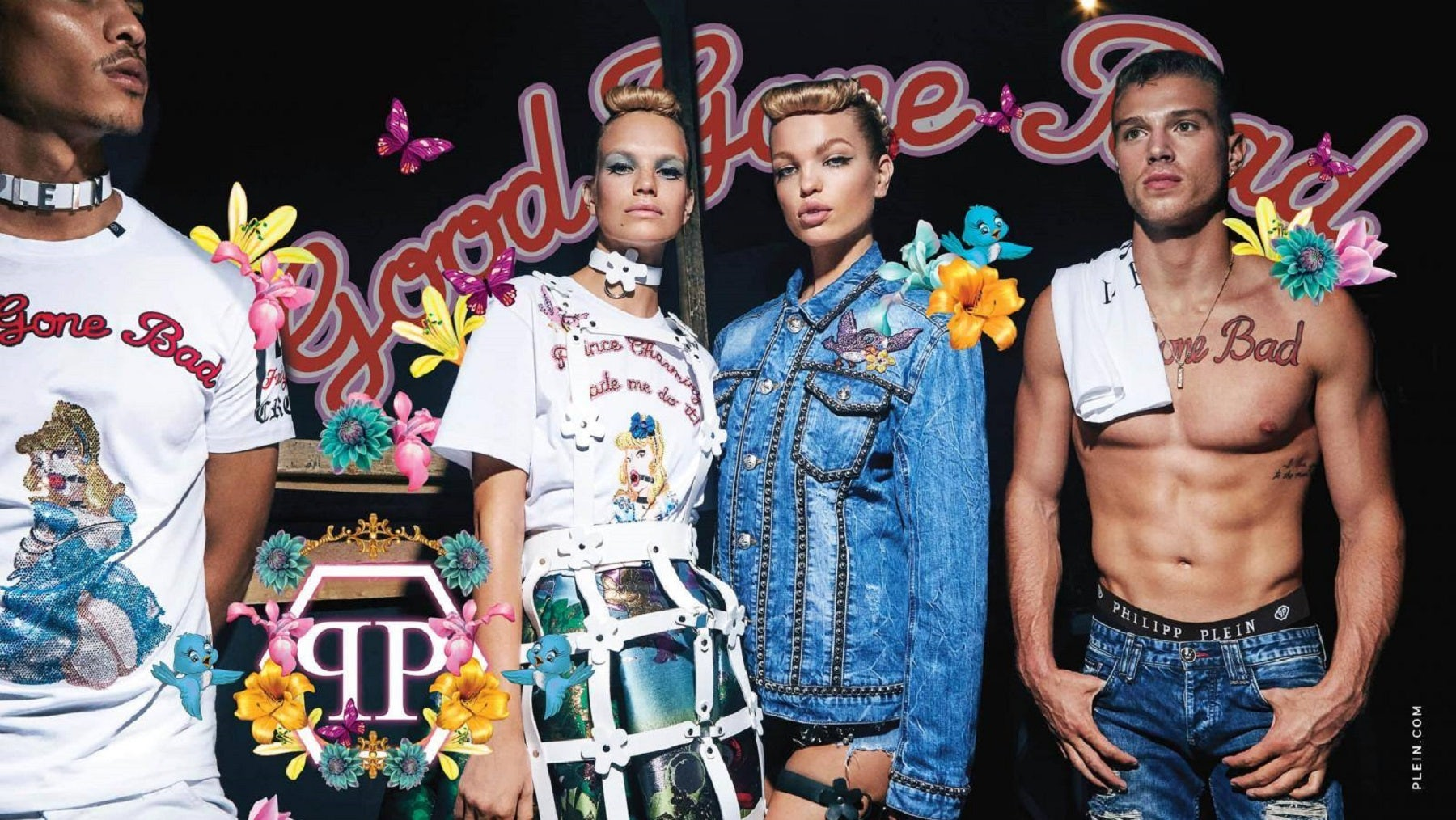 Philipp Plein Spring/Summer 2018 campaign | Source: Philipp Plein