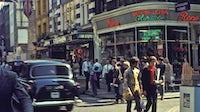 Carnaby Street in 1968   Photo: H. Grobe via Wikicommons