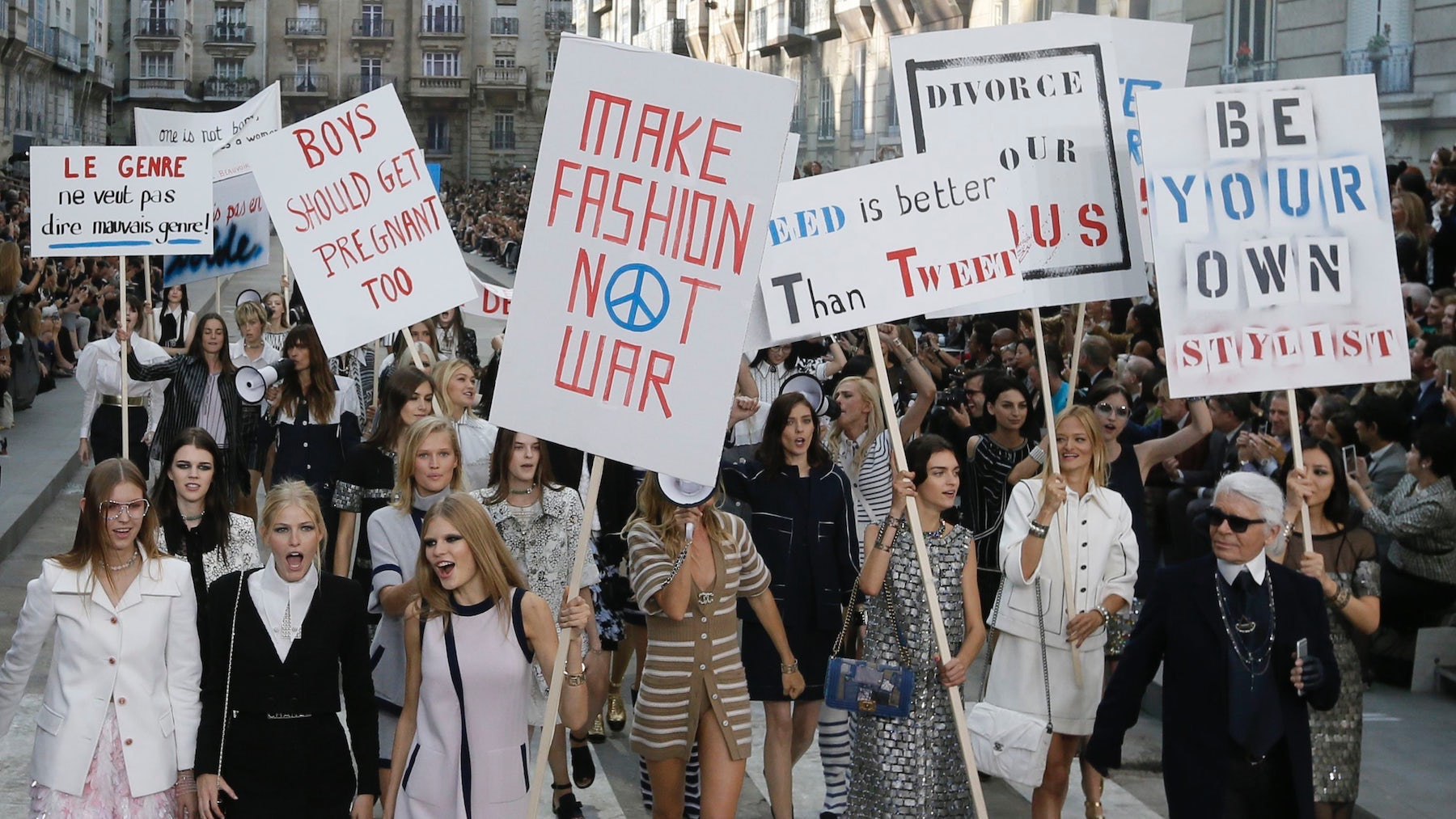 Chanel Spring/Summer 2015   Source: Reuters