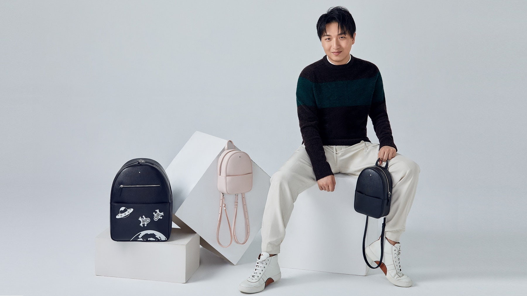 A first look at Mr. Bags' collaboration with Montblanc | Source: Mr. Bags