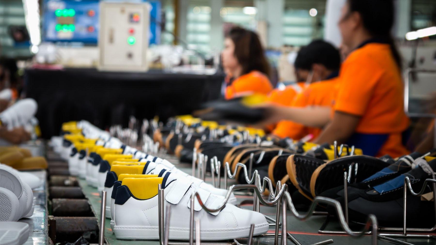 A sneaker factory | Source: Shutterstock