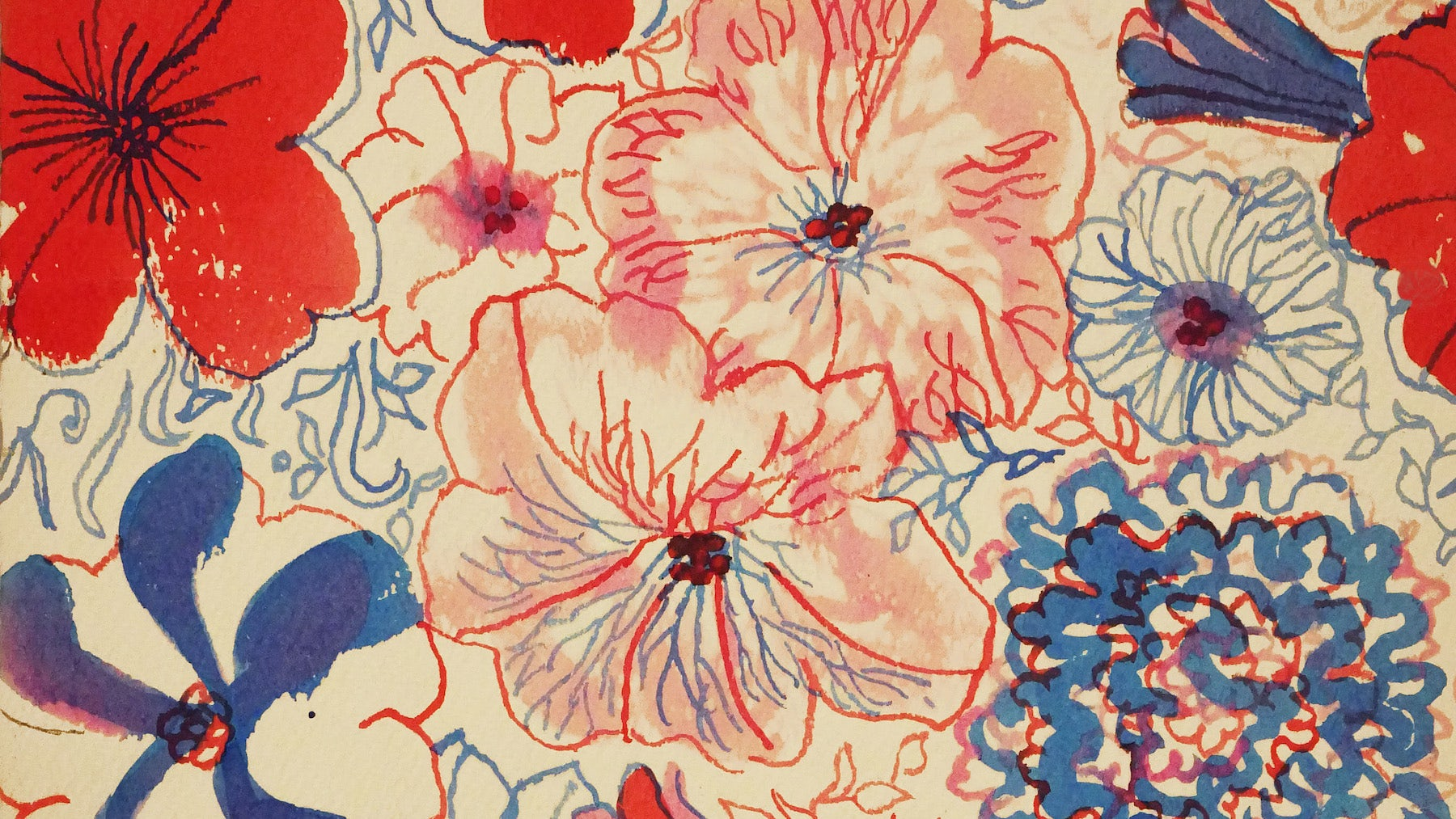 Ponchita's Petunias © 1967, Suzie Zuzek (1920-2011) | Source: Courtesy