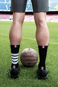 A sneak peek of Thom Browne x FC Barcelona | Photo: Courtesy