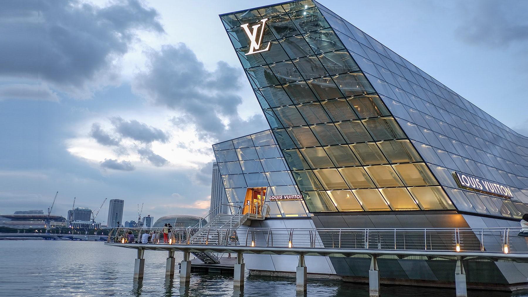 Louis Vuitton实体店 | 图片来源:Shutterstock