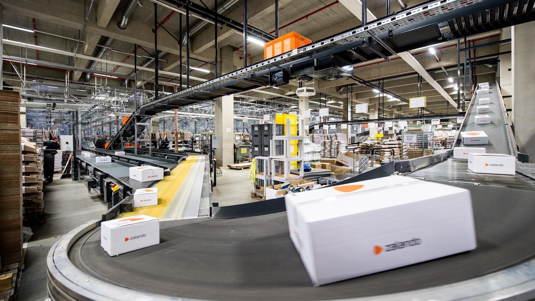 Zalando logistics centre   Source: Courtesy