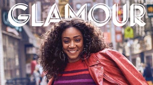 Glamour magazine cover | Source: Courtesy