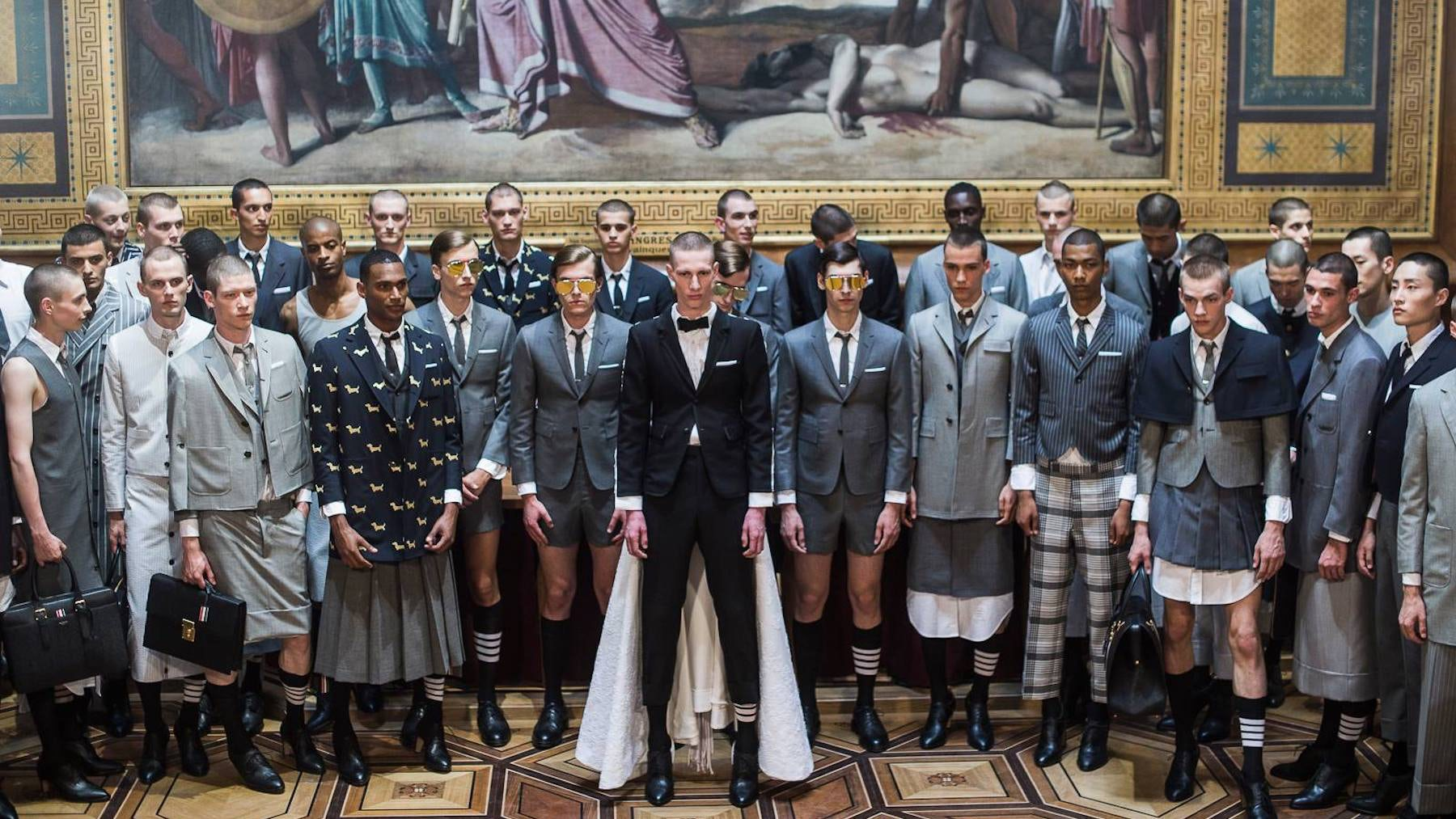 Thom Browne Spring 2018 | Source: Thom Browne