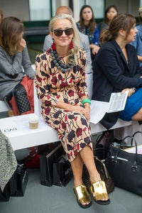 Lucinda Chambers by Nick Harvey | Source: Getty