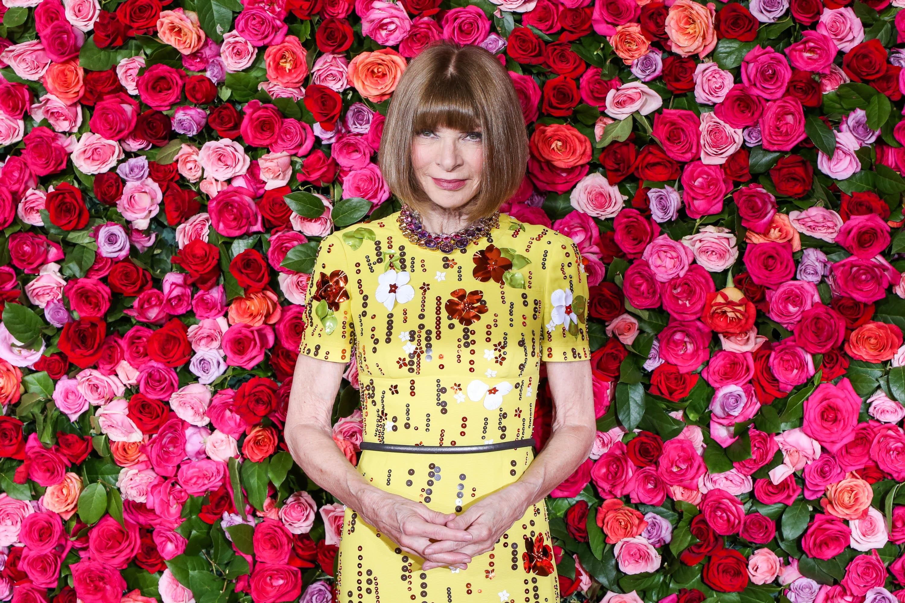 Anna Wintour at the 72nd Annual Tony Awards | Source: Walter McBride/Getty Images