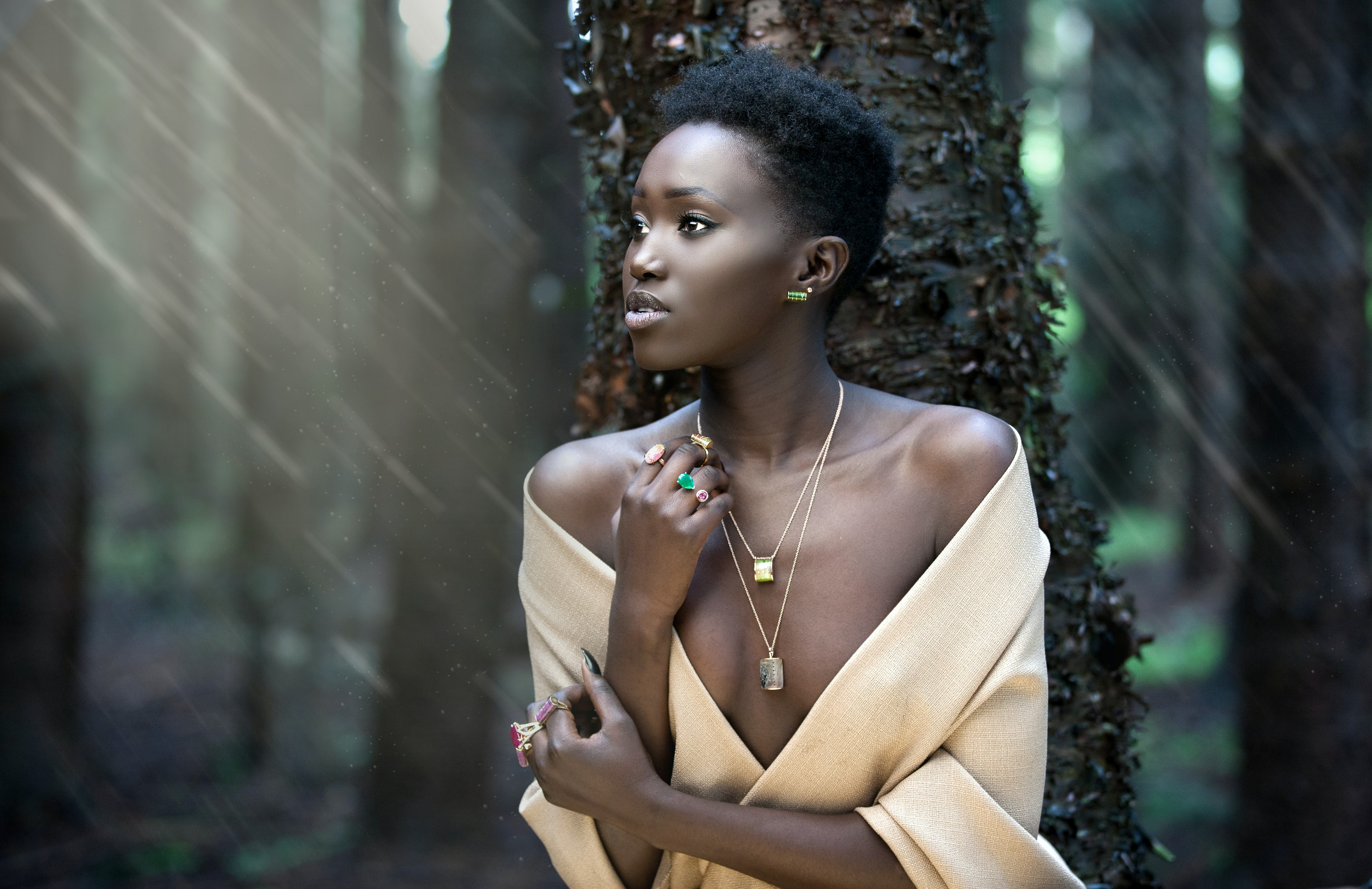 Jewellery by Iver Rosenkrantz | Photography by Emmanuel Jambo