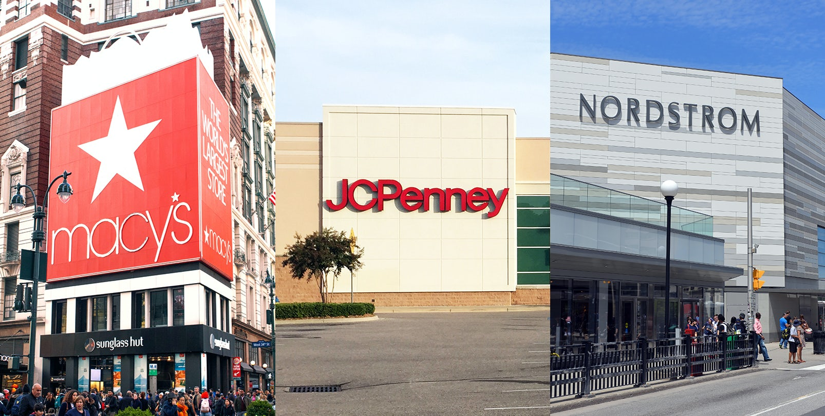 The Diverging Paths of America's Favourite Department Stores