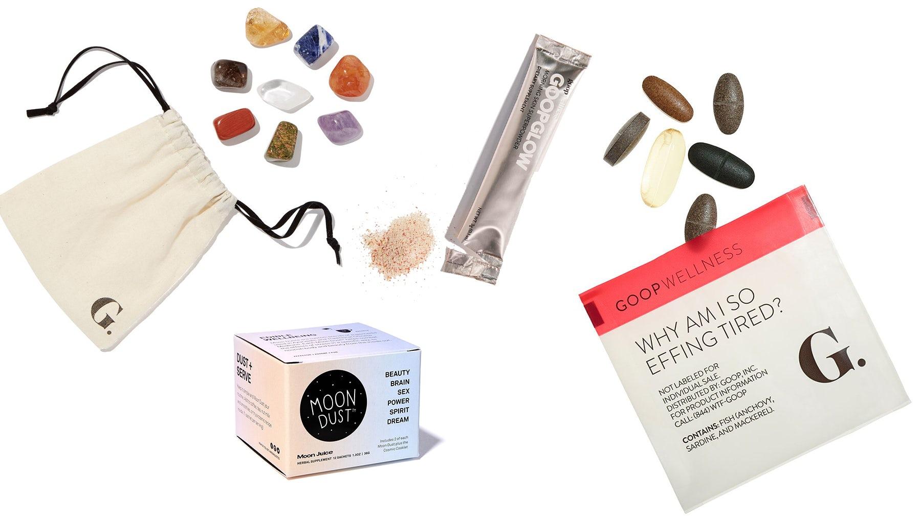 Assorted Goop products | Source: Goop.com