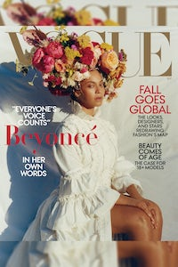 Beyoncé Knowles in Gucci on Vogue's September issue | Source: Tyler Mitchell/Vogue