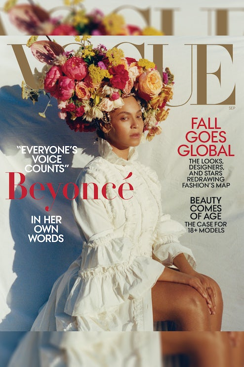 1dfffd6fc Beyoncé Knowles in Gucci on Vogue's September issue | Source: Tyler  Mitchell/Vogue