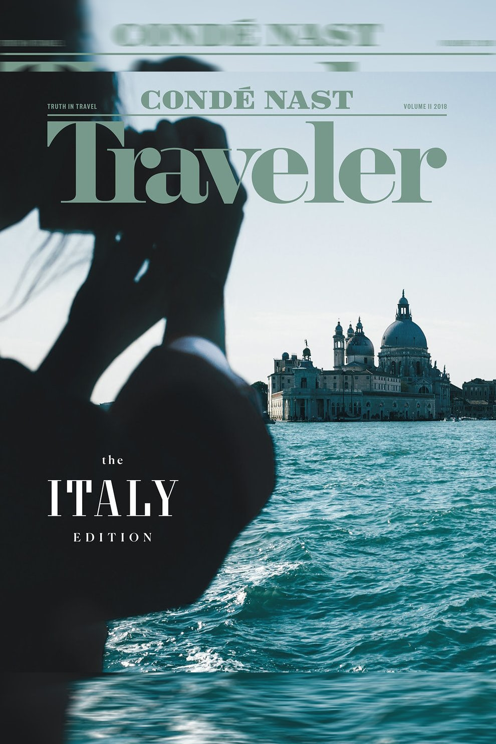 A 2018 edition of the US Conde Nast Traveler | Source: Twitter