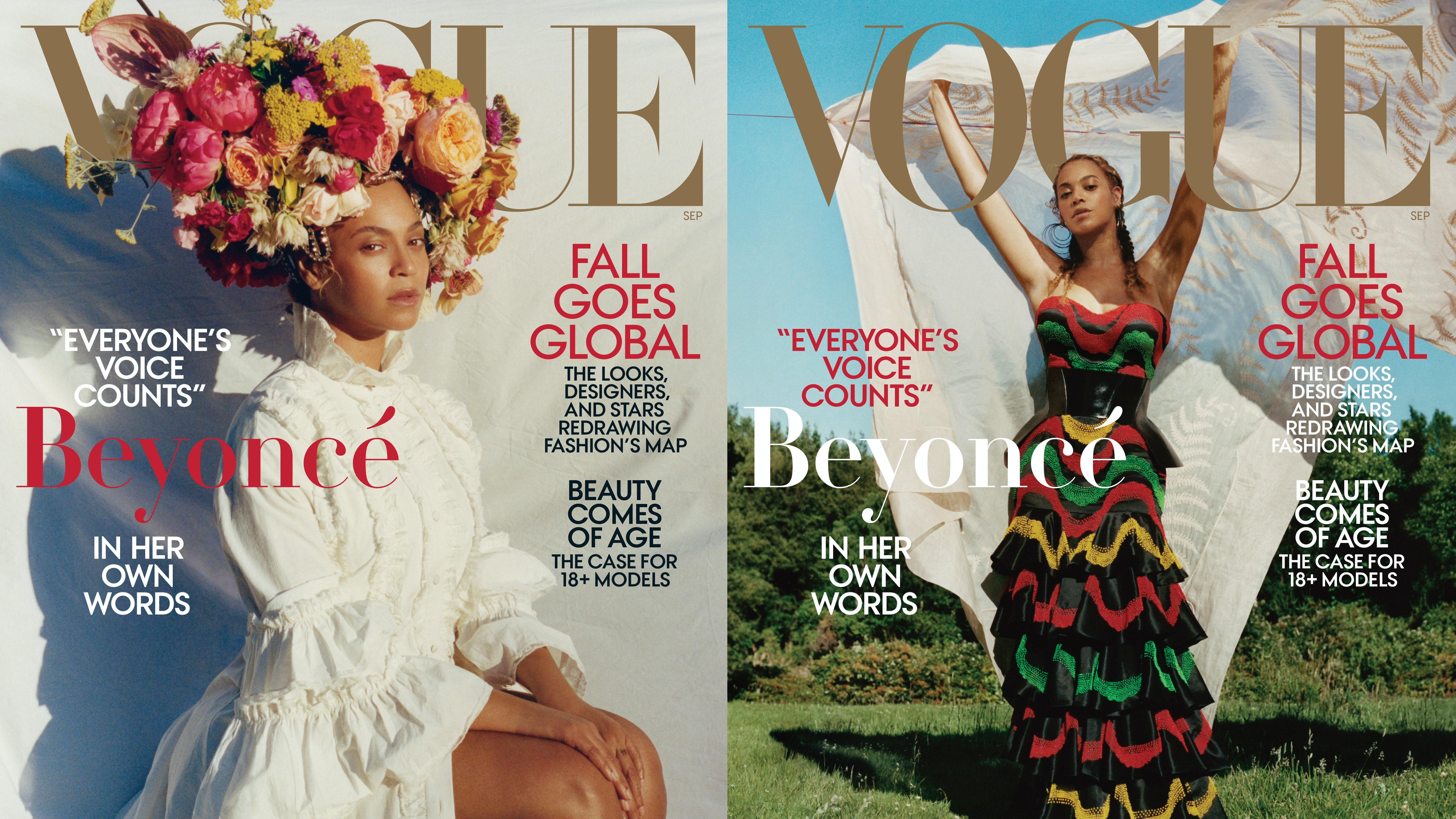 Beyoncé Knowles covers Vogue's September issue | Source: Tyler Mitchell/Vogue