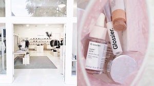 Everlane Store, Glossier products | Sources: @everlane, @glossier