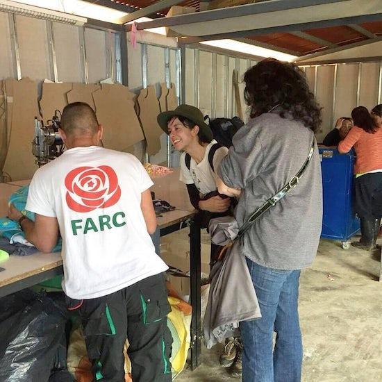 Laura Laurens working in Iconozo