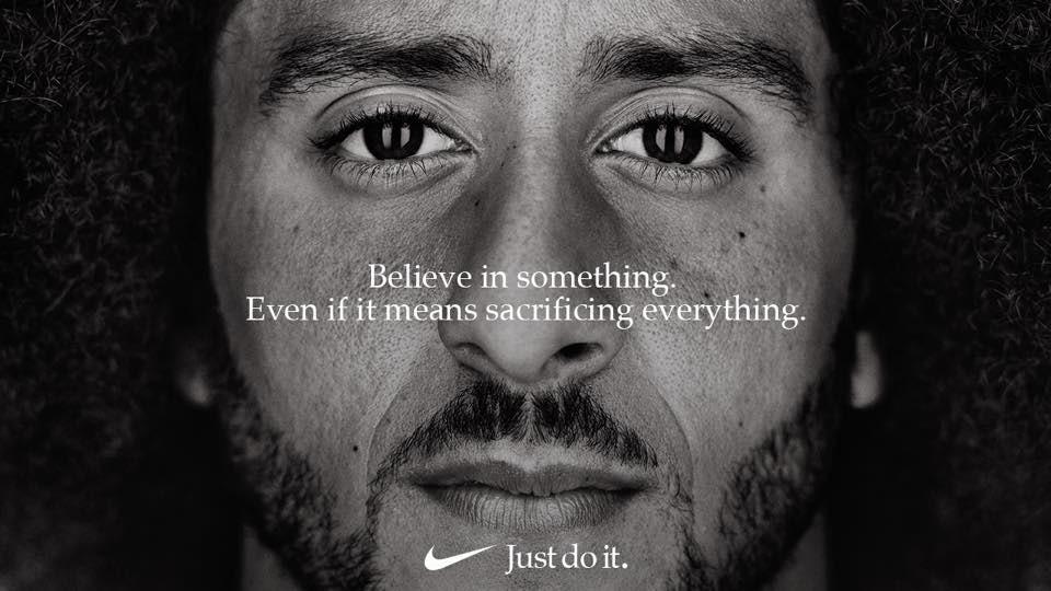 Colin Kaepernick for Nike | Source: Facebook