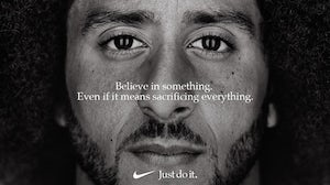 Colin Kaepernick for Nike | Source: Facebook