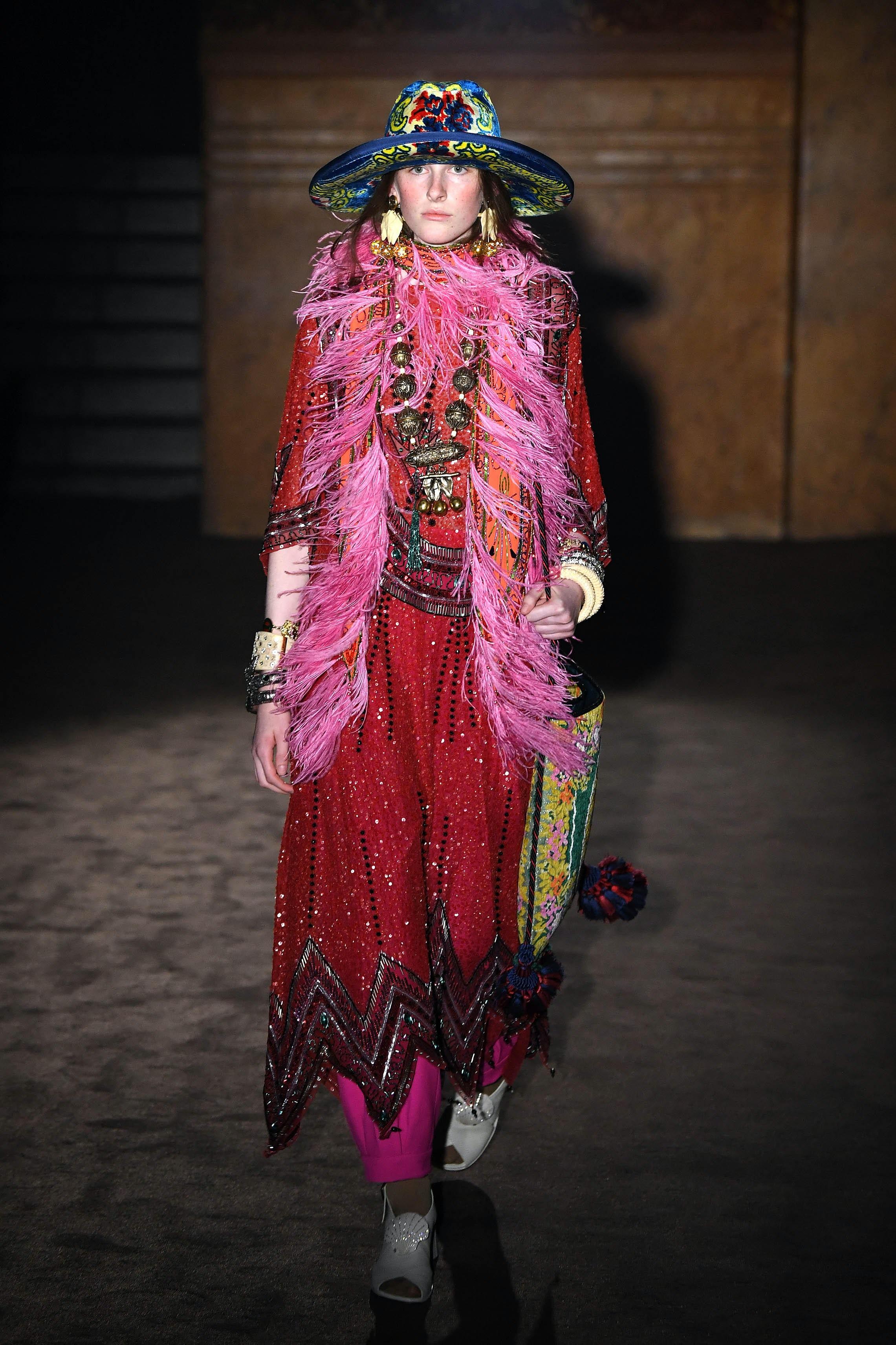 Gucci Primavera / Estate 2019 | Fonte: Getty Images
