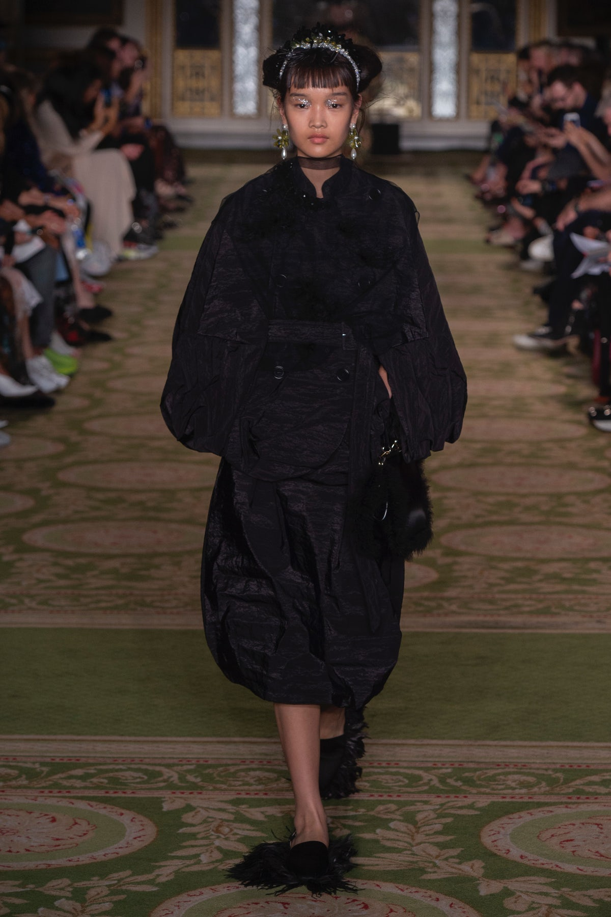 Simone Rocha Spring/Summer 2019 | Source: Indigital.tv