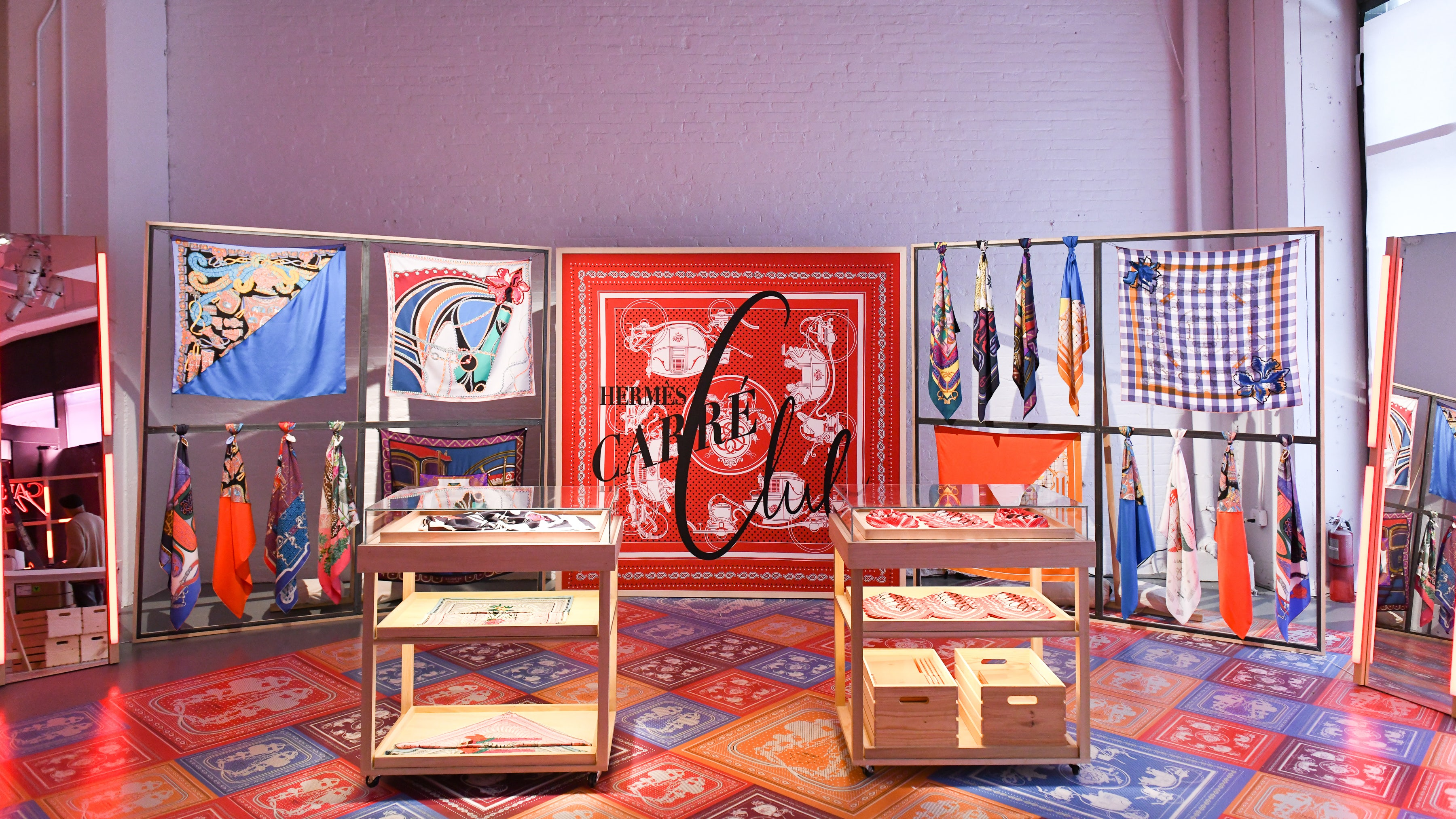 Hermès Carré Club pop-up in New York | Source: Courtesy