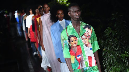 New York S Emerging Designers Make Noise Fashion Show Review Ready To Wear Spring 2019 Bof