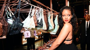 Rihanna at the Savage X Fenty launch in May | Source: Getty Images/Kevin Mazur