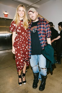 Selby Drummond with Demna Gvasalia at Vogue's Forces of Fashion | Source: Corey Tenold